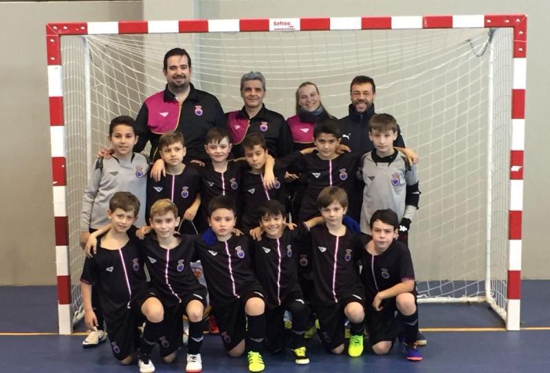 La selección benjamín de fútbol sala vive el Campeonato de España ff3090832927d