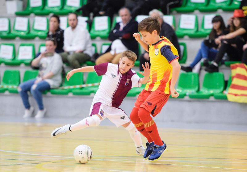 La selección alevín de fútbol sala cae en semifinales ante Cataluña fead60f51119f